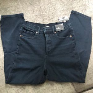 Express Slim Ankle Super High Rise 6S Jeans